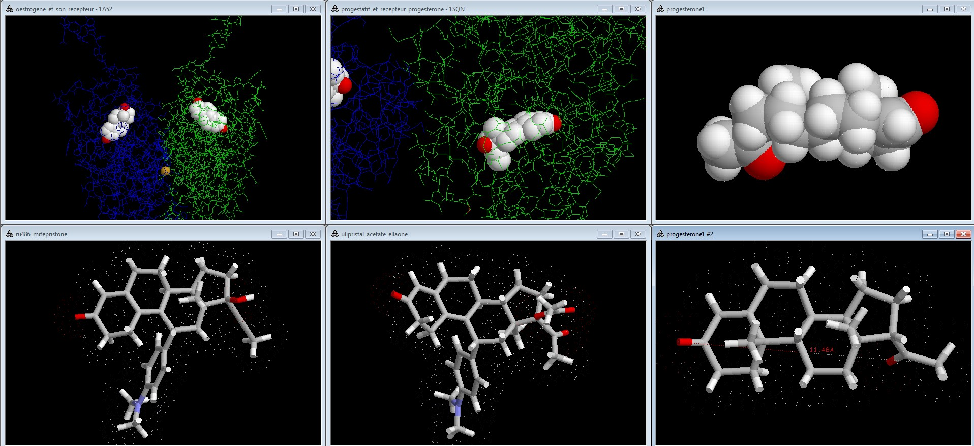 molécules pour rastop